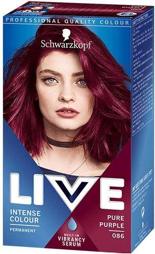 Schwarzkopf Live Color Xxl Color Intense Haarfarbe 86 Pure Purple Ab