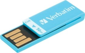 Verbatim Store 'n' Go Clip-it blau 16GB, USB-A 2.0 (43954)