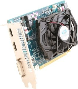 Sapphire Radeon HD 6670 AMD-Design, 1GB GDDR5, DVI, HDMI, DisplayPort, lite retail (11192-01-20G)