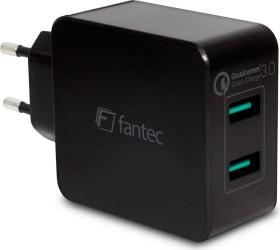 Fantec QC3-A22 Quick Charge 2-Port USB Schnellladegerät (1951)