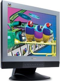 """ViewSonic VX2000, 20"""", 1600x1200, analogowy/cyfrowy"""