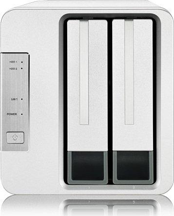 TerraMaster F2-Series, Intel Celeron J3355, 2GB RAM, 2x Gb LAN (F2-221)