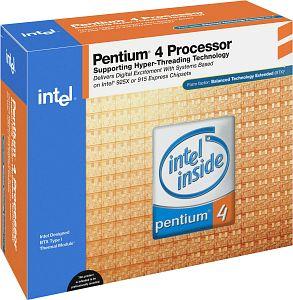 Intel Pentium 4 2.60GHz, boxed (BX80532PG2600D)