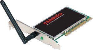 USRobotics Wireless LAN adapter, PCI (USR805416)
