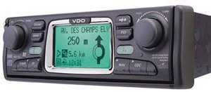 VDO Dayton MS 4100 1 DIN Navigation