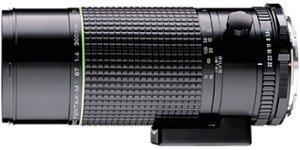 Pentax smc 67 300mm 4.0 black