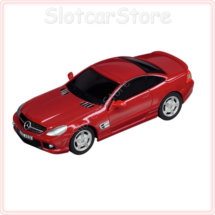 Carrera - GO!!! Car - AMG-Mercedes SL 63 red (61222) -- via Amazon Partnerprogramm