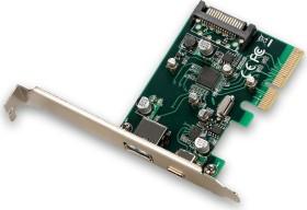 i-tec PCE2U31AC, 1x USB-C 3.1, 1x USB-A 3.1, PCIe 2.0 x4