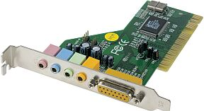 MS-Tech SoundONE 4.1 PCI Surround, PCI