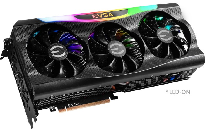 EVGA GeForce RTX 3070 Ti FTW3 Ultra Gaming, 8GB GDDR6X, HDMI, 3x DP (08G-P5-3797-KL)
