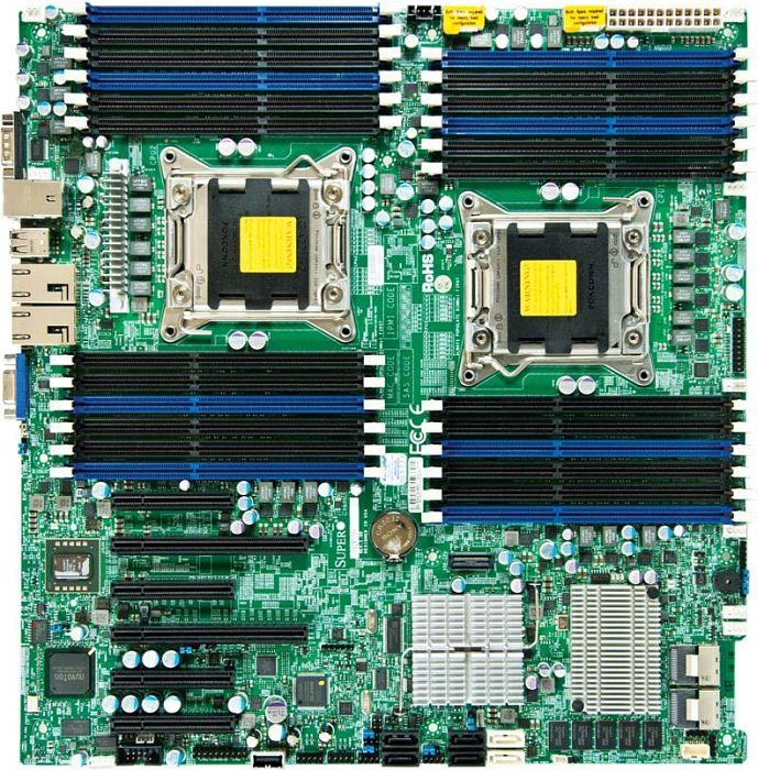 Supermicro X9DRE-TF+ Matrox Graphics Vista