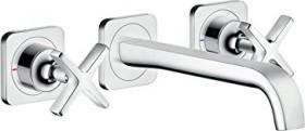 Hansgrohe AXOR Citterio E bathroom sink tap flush chrome (36107000)