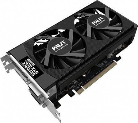 Palit GeForce GTX 650 Ti Boost OC, 2GB GDDR5, 2x DVI, HDMI, DP (NE5X65BS1049-1060F)