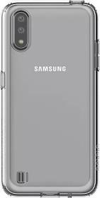 Samsung Silicone Cover für Galaxy A01 transparent (GP-FPA015KDATW)