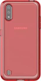 Samsung Silicone Cover für Galaxy A01 rot (GP-FPA015KDARW)