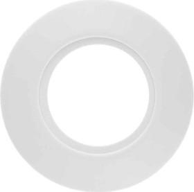 Berker Serie 1930 Rahmen 1fach Porzellan, polarweiß glänzend (138169)