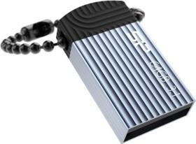 Silicon Power Jewel J20 64GB blau, USB-A 3.0 (SP064GBUF3J20V1B)