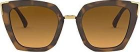 Oakley Side Swept matte brown tortoise/brown gradient polarized (Damen) (OO9445-0351)