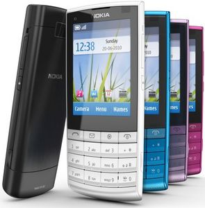 Nokia X3-02 dark metal