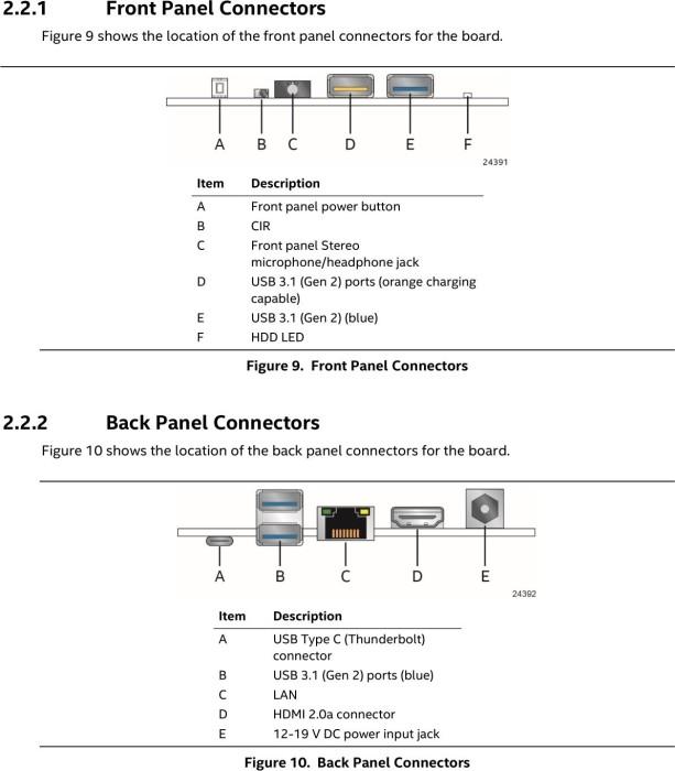 Intel NUC kit NUC8i5BEH - Bean Canyon (BOXNUC8I5BEH)