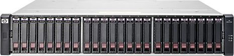 HP StorageWorks SAN MSA 2040 SAS SFF, 8x Fibre Channel 8Gb/s, 2HE (C8R15A)
