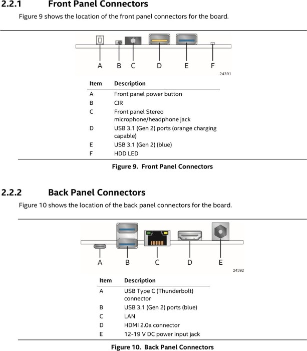 Intel NUC Kit NUC8i3BEH - Bean Canyon (BOXNUC8I3BEH)