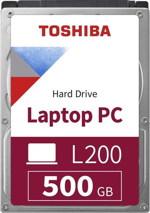 Toshiba L200 Mobile 500GB, SATA 3Gb/s, bulk (HDWJ105UZSVA)