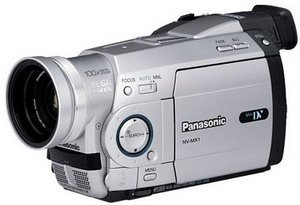 Panasonic NV-MX1 srebrny