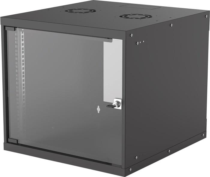 Intellinet 9HE Wandschrank schwarz, 560mm tief (714808)