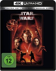 Star Wars - Episode 3: Die Rache der Sith (4K Ultra HD)