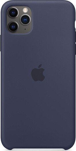 Apple Silikon Case für iPhone 11 Pro Max mitternachtsblau (MWYW2ZM/A)
