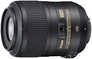 Nikon AF-S DX Micro 85mm 3.5G IF-ED VR schwarz (JAA637DA)