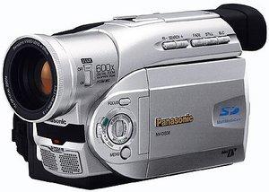 Panasonic NV-DS37 srebrny