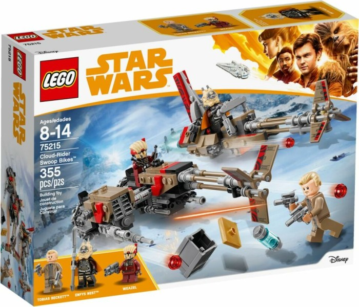 LEGO Star Wars Solo - Cloud-Rider Swoop Bikes (75215) starting from ... a86b48a62