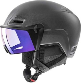UVEX Hlmt 700 Visor Helm schwarz (S5662372005)