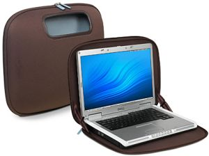 "Belkin PocketTop 15.4"" carrying case brown (F8N043eaBRN)"