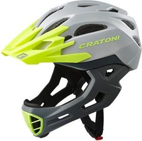 Cratoni C-Maniac Fullface-Helm grey/lime matt