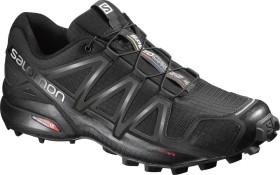 Salomon Speedcross 4 Wide black/black metallic (Herren) (402373)