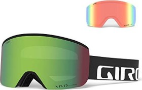 Giro Axis black wordmark/vivid emerald/vivid infrared (7082514)