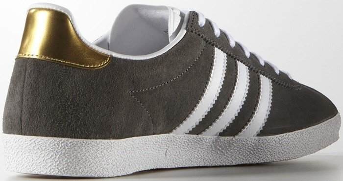 adidas Gazelle OG ashwhitegold met (Damen) (S81332