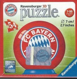 Ravensburger Puzzle FC Bayern München 3D-Puzzle Ball (11857)