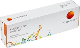 Cooper Vision Proclear 1 day multifocal, -5.00 Dioptrien, 30er-Pack