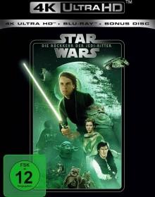Star Wars - Episode 6: Die Rückkehr der Jedi-Ritter (4K Ultra HD)