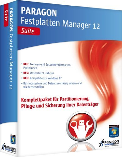 Paragon: Festplatten Manager 2012 Suite (deutsch) (PC) -- via Amazon Partnerprogramm