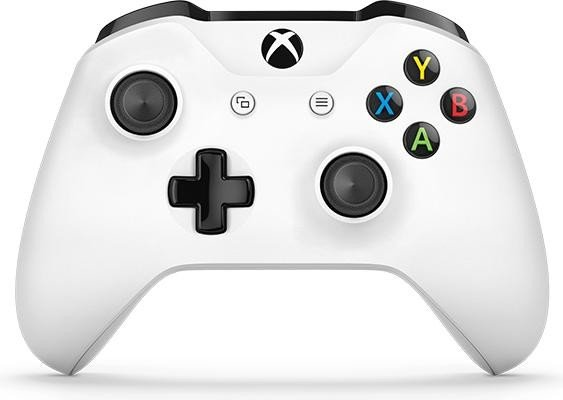 Microsoft Xbox One S wireless controller white (Xbox One) (TF5-00003)