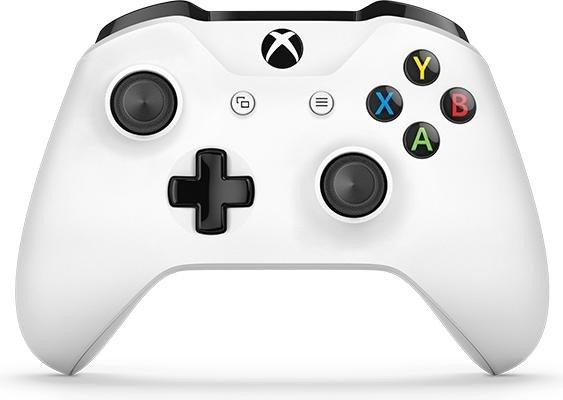 Microsoft Xbox One S Wireless Controller weiß (Xbox One/PC) (TF5-00003)