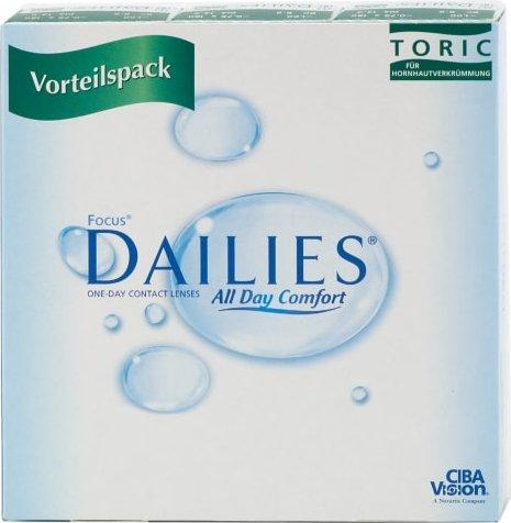 Alcon Focus Dailies Toric, 90er-Pack -- via Amazon Partnerprogramm