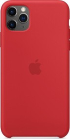 Apple Silikon Case für iPhone 11 Pro Max rot (MWYV2ZM/A)