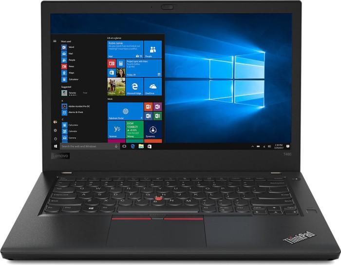 Lenovo ThinkPad T480, Core i7-8550U, 8GB RAM, 1TB HDD, 16GB SSD, PPS, 1920x1080, GeForce MX150, PL (20L50005PB)