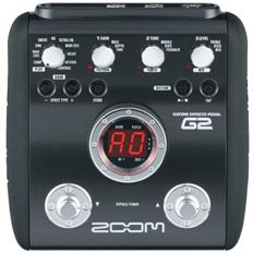 ZoomG2 guitar multi effects unit